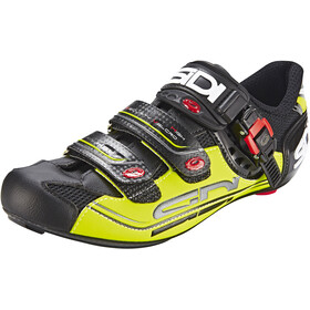 Sidi Genius 7 Shoes Herren black/yellow